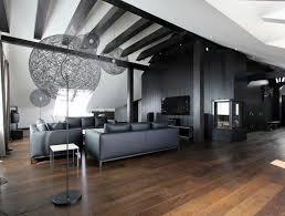 wohnzimmer in grau und schwarz gestalten 50 wohnideen - Wohnideen Grau Boden