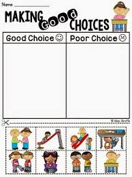 making good decisions worksheets free worksheets library
