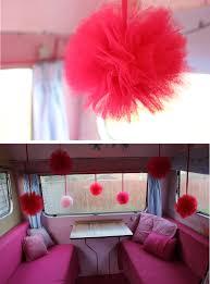 my vintage caravan diy pom pom decorations