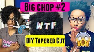 caption for big haircut big chop 2 on natural hair diy tapered haircut tedra daigre