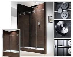 frameless sliding glass shower doors off the track frameless