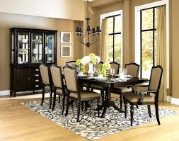 home design beautiful dark brown wood unique dining room round 87 exciting round dining room table for 8 home design