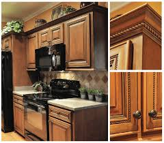 oak kitchen cabinet refacing upgrade to select cherry wood cabinets american wood reface
