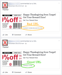 fake target employee black friday how you can spot fake coupons on facebook and why it matters