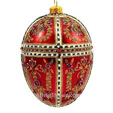 egg ornament faberge style egg ornaments