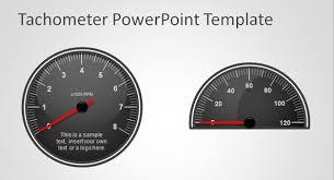 Excel Speedometer Template Free Tachometer Powerpoint Template