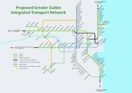 Metro North Train Map by Ireland