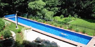 Lap Swimming Pools - Backyard lap pool designs