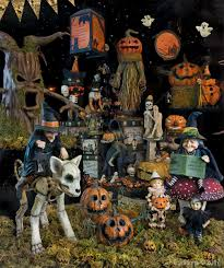 hallow ween vintage halloween decor traditions year round holiday store ha