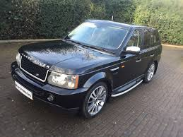 land rover sport 2007 used black land rover range rover sport for sale middlesex