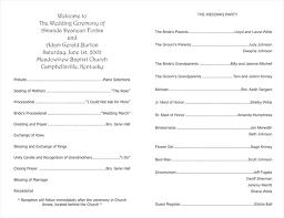 wedding bulletin templates wedding program templates