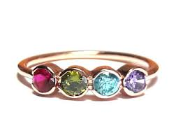 birthstone ring birthstone ring etsy