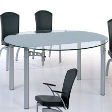 Modern Round Dining Table Sets Raindrop Illusions Extendable Round Dining Table Beverly Hills