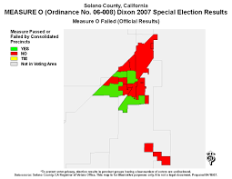 Early Election Results Map by Solano County Election Results And Files