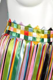 woven ribbon rainbow woven ribbon fringe belt bustown modern