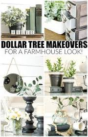 Home Decor Tree Get The Farmhouse Look With These Dollar Tree Items Dollar
