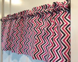 Pink And White Chevron Curtains Chevron Curtains Etsy