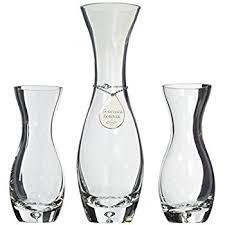 Heart Shaped Sand Ceremony Vase Set Amazon Com Lillian Rose Wedding Ceremony Unity Sand Vases