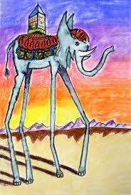 smart class salvador dali elephants and surrealistic creatures