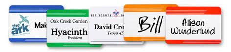 name tags for reunions reusable name badges easily change names titles name tag inc