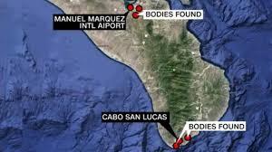 Baja Map 6 Bodies Found Hanged From Bridges Near Mexican Tourist Resort In