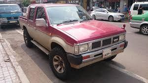 datsun nissan truck file datsun 4x4 pickup truck front jpg wikimedia commons