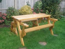 the diyers photos folding bench and picnic table combo project
