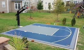 Backyard Tennis Court Cost Basketball Court Building Guide Part 1 Basketball Goal Store
