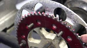 how to change a go kart sprocket youtube