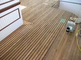 teak flooring ancora yacht service