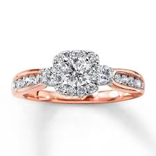 Wedding Rings Rose Gold by Wedding Rings Rose Gold Wedding Rings With Diamonds The Sweet