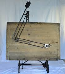 Antique Wooden Drafting Table Vintage Antique Drafting Table Circa 1900 Nestler Germany
