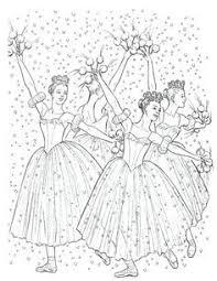 clara nutcracker coloring nutcracker ballet coloring pages