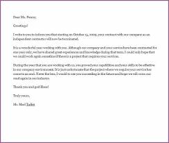 contract termination letter designproposalexample com