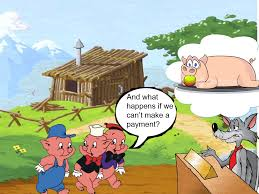 learning english 3 pigs