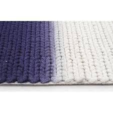 Blue Wool Rug Imogen U0026 Baker Blue Wool Dip Dyed Rug Temple U0026 Webster
