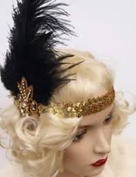 gatsby headband vintage 1920 s flapper headband hat headpiece stage flapper hen