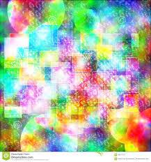 wallpaper abstract box and circle funny bohemian colorful stock
