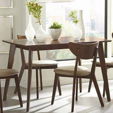 coaster dining room sets coaster fine furniture 103061 kersey dining table the mine