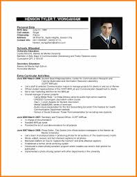 Science Resume Sample by 5 Resume Template Philippines Science Resume