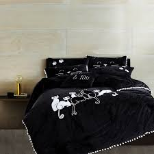 Cheap Black Duvet Covers Cheap Duvet Cover Set Buy Quality Bed Set Directly From China