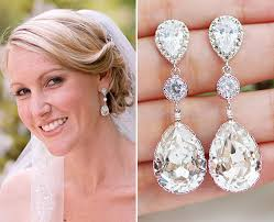 bridal drop earrings wedding jewelry bridal earrings bridesmaid earrings dangle