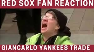 Red Sox Meme - red sox fans reaction to giancarlo stanton yankees trade meme