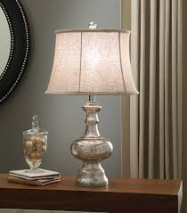 Mercury Glass Table Lamp Lamps Marston Mercury Glass Table Lamp