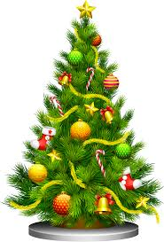 transparent christmas tree clipart 0 clipartbarn