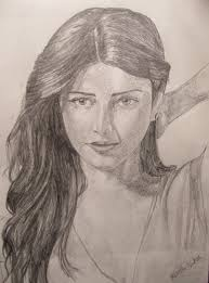 pencil sketch of a indian face beautiful sketches of face