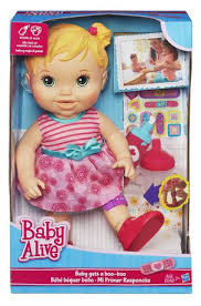 baby alive baby boo boo doll blonde