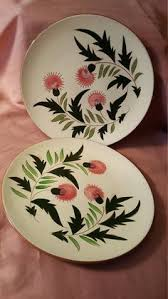 stangl pottery fruit and flowers stangl pottery fruit 3 dinner plates 10 inches stangl pottery