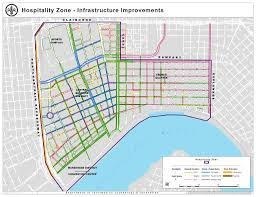 New Orleans Street Map french quarter street repairs top planned uses of 30 million from