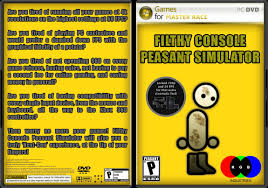 Peasant Meme - filthy console peasant simulator by detergent the glorious pc